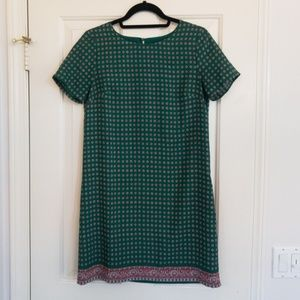 J. Crew short-sleeve dress